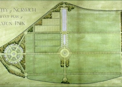 Plan of Eaton Park