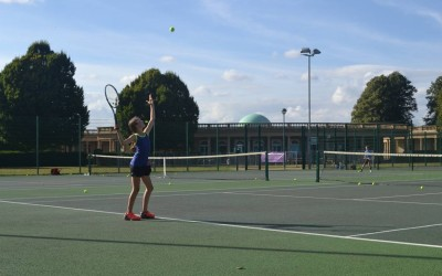Tennis in Eaton Park